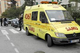 Hospitalizado un hombre que fue atacado por otro con un cuchillo en Palma