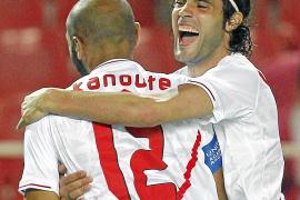 El Sevilla se desmelena