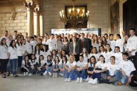 Cort y Govern oficializan su apuesta por los Juegos de la Juventud del año 2018