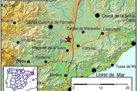 Registrado un terremoto de 3,8 grados en Girona