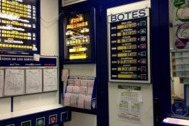 Cae en Palma el segundo premio de la Lotería Nacional