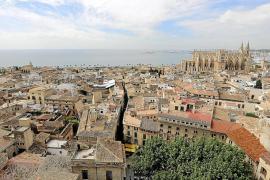 La contaminación del aire en Palma roza el límite recomendado