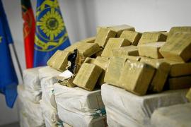 La Guardia Civil se incauta de 35 kilos de cocaína en Oporto con destino Palma