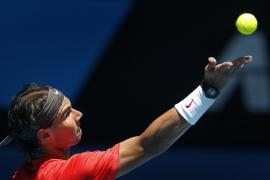 Nadal: «He jugado un partido muy sólido frente  a Sweeting»