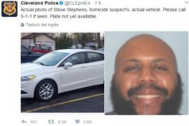 La Policía busca a un sospechoso de cometer un asesinato y retransmitirlo por Facebook
