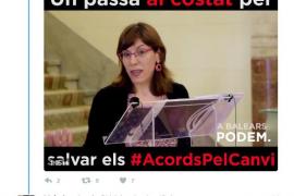 Podemos dulcifica el látigo: pasa de ver financiación ilegal en Més por el caso Garau a considerarlo «puerta giratoria»
