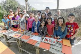 Una veintena de niños participan en estos talleres de Pascua organizados por el MAEF en la casa payesa de es Porxet de Vila que