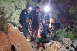 El buceador Xisco Gràcia, rescatado y a salvo