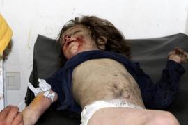 Mueren nueve menores de una misma familia durante un bombardeo en Siria