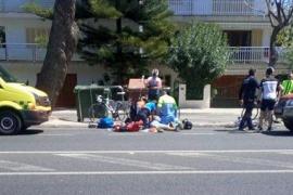 Un ciclista muere atropellado en la carretera de Artà