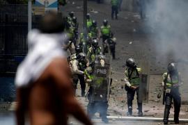 Muere un joven por un disparo de bala durante la manifestación opositora en Caracas