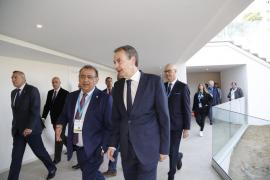 Zapatero, en Calvià: «Están condenados al fracaso quienes pretendan volver al proteccionismo»