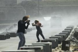 Los fuertes vientos causan cinco heridos y más de 330 incidencias en Cádiz