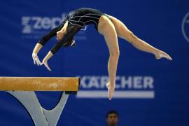 La mallorquina Cintia Rodríguez, a la final del Europeo de gimnasia artística