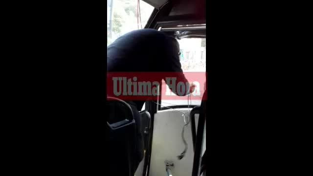 Grave fallo de seguridad en el autobús entre Inca y Lluc