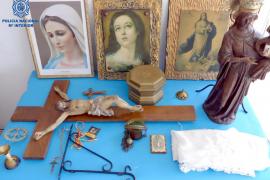 Dos detenidos por robar objetos religiosos en capillas e iglesias de Manacor