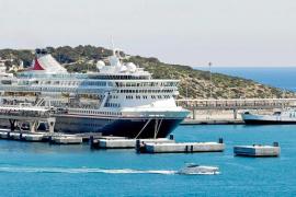 Más cruceros en Eivissa