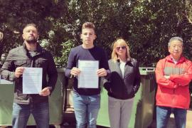 El PSOE de Santanyí denuncia el abandono del exterior del Cala d'Or Park