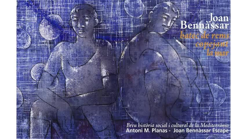 'Batec de rems copejant la mar', una obra que cierra la trilogía sobre el Mediterráneo de Joan Bennàssar