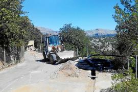El Consell paraliza unas obras ilegales del Ajuntament de Escorca en zona ANEI