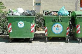 Calvià adelanta los refuerzos de recogida de residuos debido a la «enorme» actividad turística