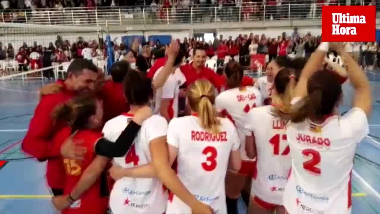 El JS Hotels Cide logra el ascenso a Superliga Femenina