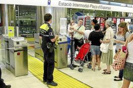 69.000 euros en multas en año y medio en el tren