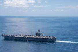 Corea del Norte amenaza con hundir el portaaviones de EEUU 'Carl Vinson' si se acerca