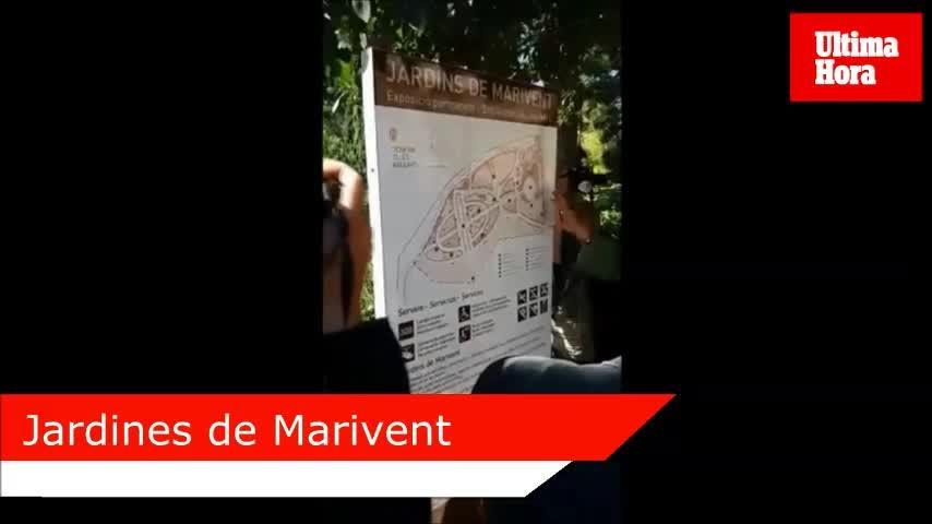 Los jardines de Marivent se abrirán al público el próximo 2 de mayo