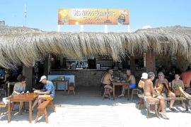 Adiós a los chiringuitos de la playa de es Trenc