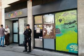 Desalojan el centro social Ca ses Mopis en Palma