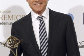 Matías Prats Luque ha sido reconocido con el Premio Nacional de Televisión