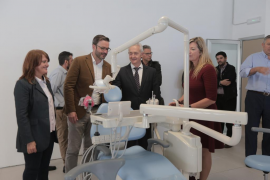 Inauguradas las instalaciones de la escuela privada de Odontología adscrita a la UIB