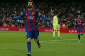 El Barcelona golea y deja a Osasuna al borde del descenso