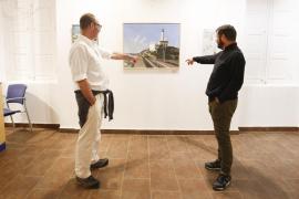 Muestra del concurso de foto y pintura organizado por la APB (Fotos: Arguiñe Escandón)
