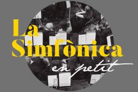 Can Prunera, escenario de un concierto de 'La Simfònica en petit'
