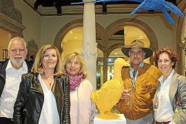 Damià Ramis inaugura una exposición con sus nuevas esculturas