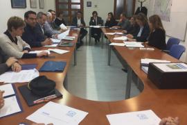 La Comisión de Seguridad Vial analiza el Plan de vías ciclistas para Mallorca