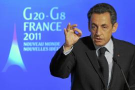 Sarzkozy propone que el G-20 intervenga para evitar crisis alimentarias