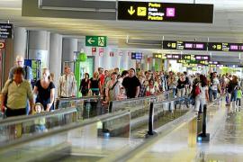 Baleares recibió 595.000 turistas internacionales los tres primeros meses del año