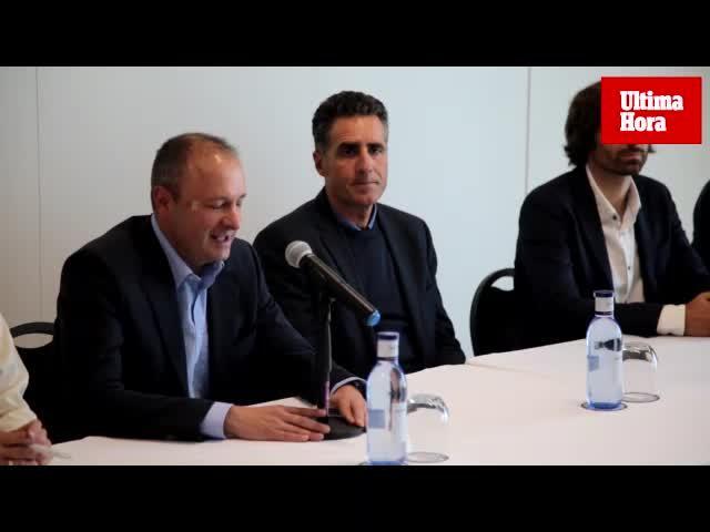 Miguel Indurain inaugura las actividades ciclistas en la Academia de Rafael Nadal
