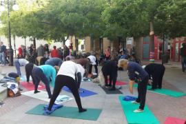 Más de 700 personas participan en las jornadas de Acción Global Ciudadana de Santa Catalina y Es Jonquet