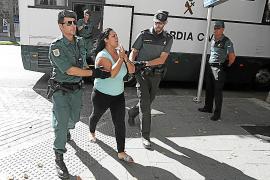 'La Eva' sale de la cárcel de Palma tras abonar una fianza de 50.000 euros