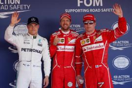 Vettel logra la 'pole' en Rusia
