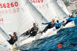 Silvia Mas, del Club Nàutic s'Arenal, y Patricia Cantero, del Gran Canaria, plata en 470 en Hyeres