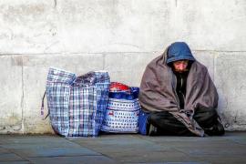 Solo 4 de los casi 1.200 'sin techo' que hay en Palma se han empadronado
