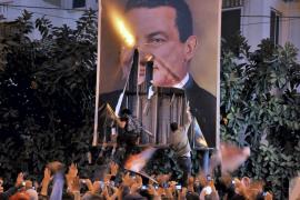 MANIFESTACIÓN EN ALEJANDRÍA PARA EXIGIR REFORMAS DEMOCRÀTICAS Y EL FINAL DE LA LEY DE EMERGENCIA