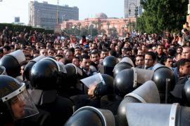 MANIFESTACIÓN EN EL CAIRO PARA EXIGIR REFORMAS DEMOCRÀTICAS Y EL FINAL DE LA LEY DE EMERGENCIA