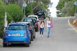 Santanyí inicia las restricciones de tráfico en Cala s'Almonia sin imponer sanciones