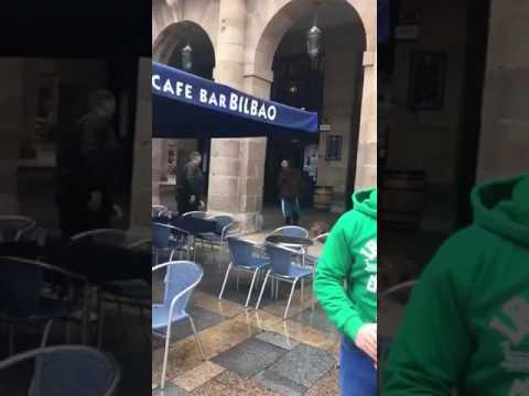 La Policía Nacional detiene al seguidor del Betis que agredió a un hombre en Bilbao